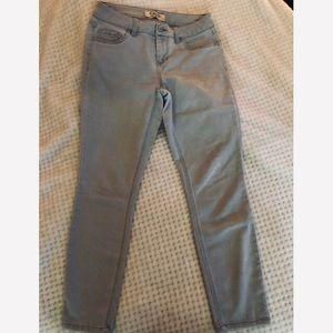 Jeans - Capri d. Stretch Jeans gray